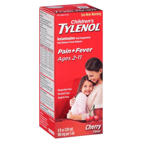 TYLENOL CHILDREN PAIN + FEVER CHERRY 4oz