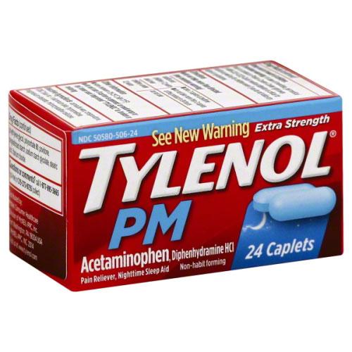 TYLENOL EXTRA STRENGTH PM 24caplets