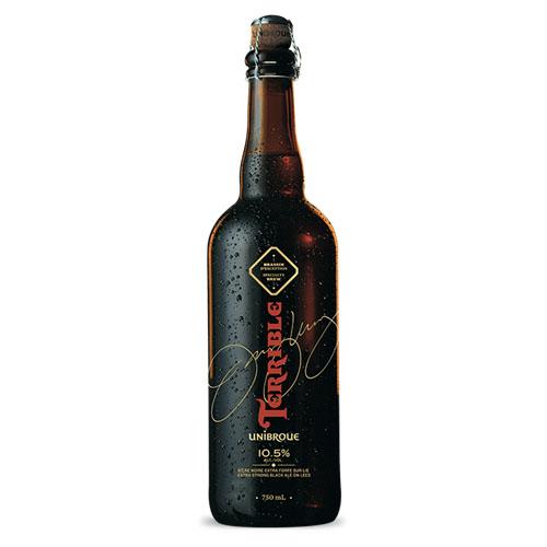 UNIBROUE TERRIBLE ALE 10.5% ALCOHOL 25.4oz