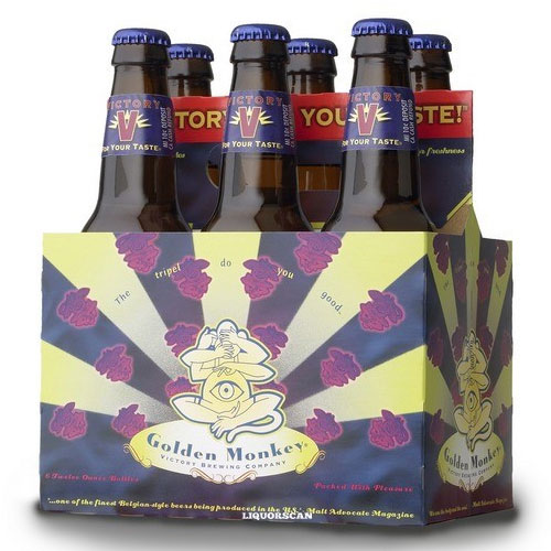 VICTORY GOLDEN MONKEY BELGIAN STYLE BEER 6pk 12oz.