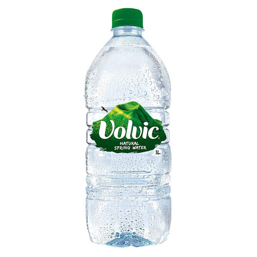 VOLVIC NATURAL SPRING WATER 1L