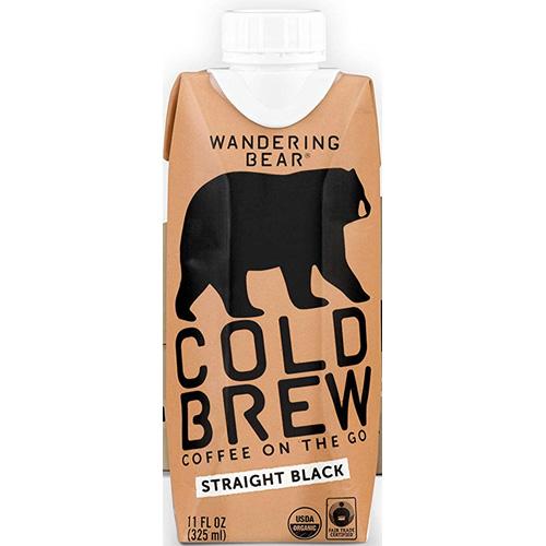 WANDERING COLD BREW STRAIGHT BLACK 11oz