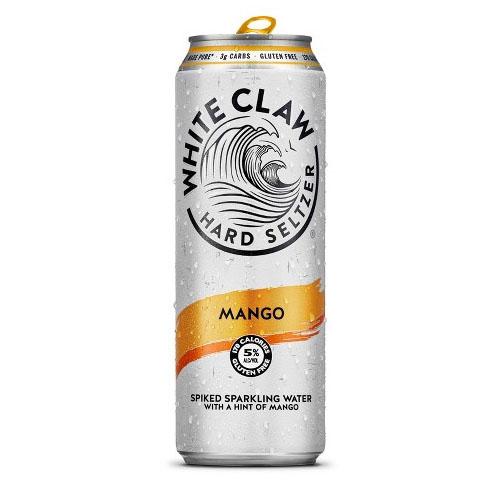 WHITE CLAW HARD SELTZER MANGO 19.2o.z