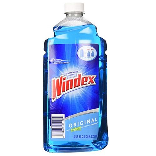 WINDEX CLEANER ORIGINAL VALUE REFILL 67.6oz