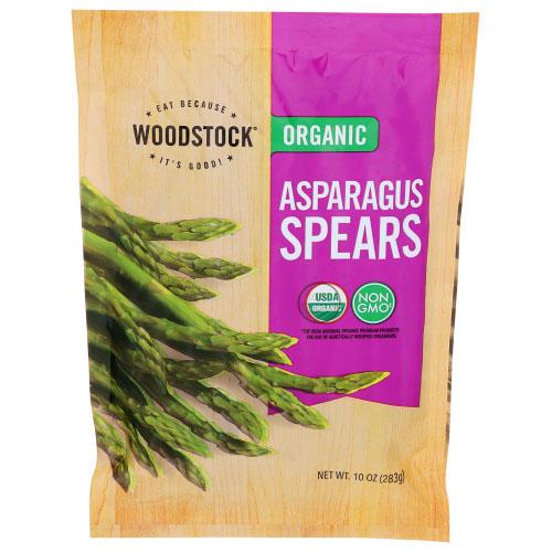 WOODSTOCK ORGANIC ASPARAGUS SPEARS 10oz