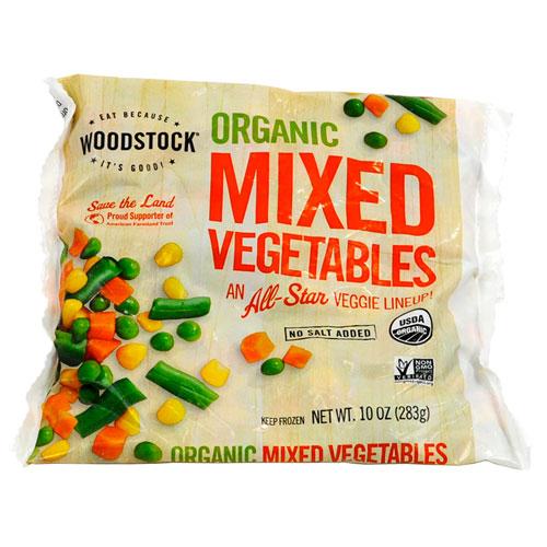 WOODSTOCK ORGANIC MIXED VEGETABLES 10oz