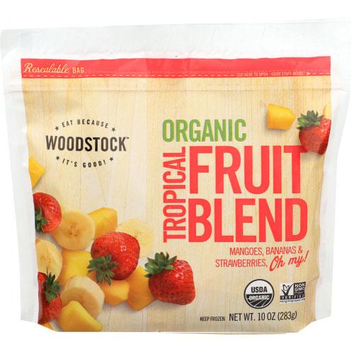 WOODSTOCK ORGANIC TROPICAL FRUIT BLEND 10oz