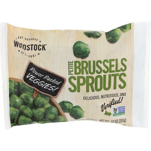 WOODSTOCK PETITE BRUSSEL SPROUTS 10oz