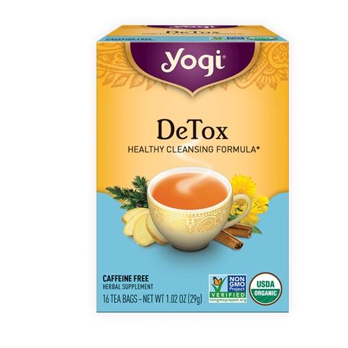 YOGI TEA DETOX 16bags