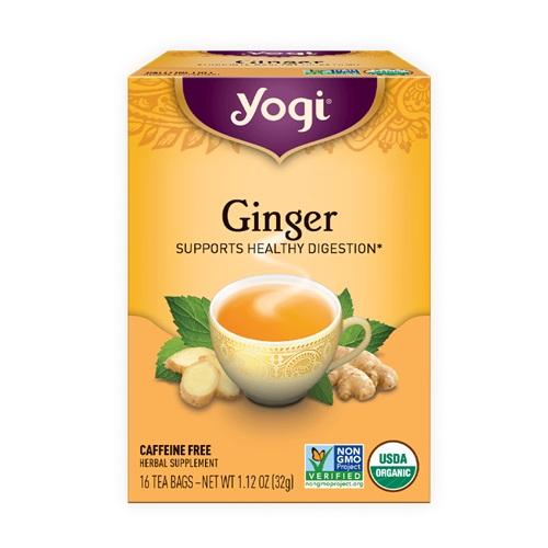 YOGI TEA GINGER 16bags