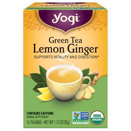 YOGI TEA GINGER LEMON 16bags