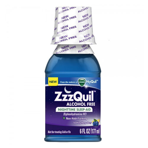 ZZZQUIL NIGHTTIME SLEEP-AID WARMING BERRY 6oz
